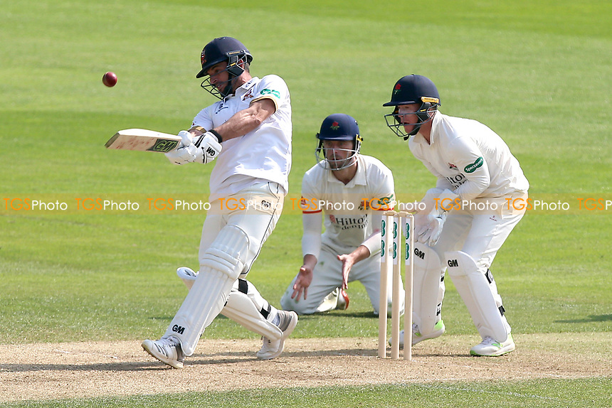 Ryan ten Doeschate hits 6 runs for Essex during Essex CCC vs Lancashire CCC, Specsavers County Championship Division 1 Cricket at The Cloudfm County Ground on 21st April 2018