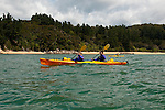 New Zealand, South Island: Kayaking from Kaiteriteri along the Abel Tasman National Park coast. Photo copyright Lee Foster. Photo # newzealand125031
