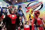 June 14th, 2012: Tokyo, Japan - Life size figures of Go Basters are displayed during the International Tokyo Toy Show 2012 at Tokyo Big Sight in Tokyo, Japan. This event lasts from June 14th to 17th.  (Photo by Yumeto Yamazaki/AFLO)