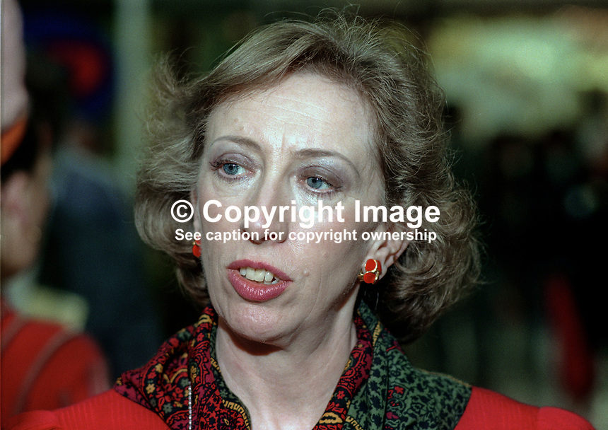 Margaret Beckett, MP, Labour Party, UK, 19901001006.<br />