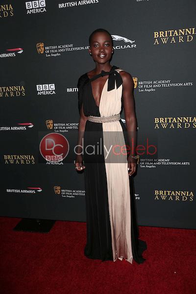 Lupita Nyong'o<br /> at the 2013 BAFTA LA Jaguar Britannia Awards, Beverly Hilton Hotel, Beverly Hills, CA 11-09-13<br /> Dave Edwards/DailyCeleb.com 818-249-4998