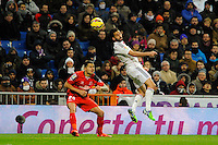 Real Madrid´s  and Sevilla's Vitolo during 2014-15 La Liga match between Real Madrid and Sevilla at Santiago Bernabeu stadium in Alcorcon, Madrid, Spain. February 04, 2015. (ALTERPHOTOS/Luis Fernandez) /NORTEphoto.com