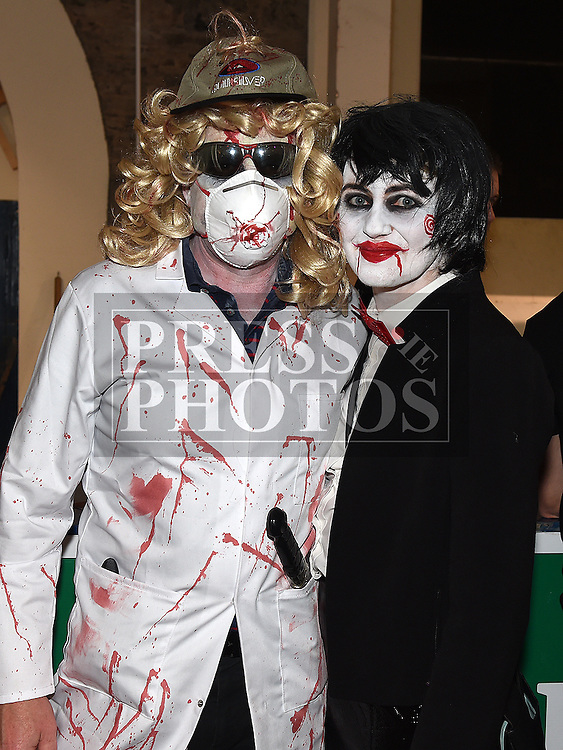 Paddy and Pauline McDonnell at the Halloween Ball in the old church Ardee in aid of St. Mary's GAA club. Photo:Colin Bell/pressphotos.ie