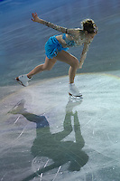 Carolina Kostner of Italy bronze medalist in the Women's Figure Skating competition performs during the gala exhibition of the ISU European Figure Skating Championships in Budapest, Hungary on January 19, 2014. ATTILA VOLGYI