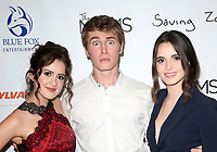 10 July 2019 - West Hollywood, California - Laura Marano, Michael Provost, Vanessa Marano. The Makers of Sylvania host a Mamarazzi event held at The London Hotel. Photo Credit: Faye Sadou/AdMedia