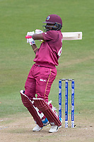 Evin Lewis (West Indies)  pulls a short delivery to the square boundary during West Indies vs New Zealand, ICC World Cup Warm-Up Match Cricket at the Bristol County Ground on 28th May 2019