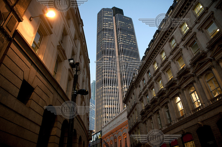 Tower 42 (originally The Nat West Tower), Old Broad Street, London.