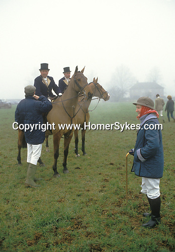 The Duke of Beaufort Hunt, Badminton, Gloucestershire. England.  The English Season published by Pavilon Books 1987