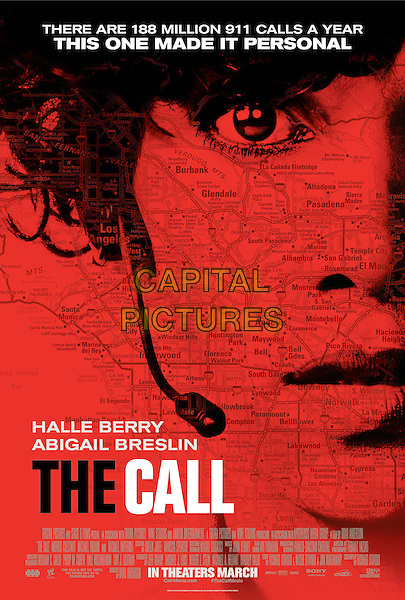 ONE SHEET POSTER ART<br /> in The Call (2013) <br /> *Filmstill - Editorial Use Only*<br /> CAP/FB<br /> Supplied by Capital Pictures