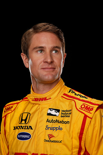 2 February, 2016, Indianapolis, Indiana USA<br /> Ryan Hunter-Reay<br /> &copy;2016, Michael L. Levitt<br /> LAT Photo USA