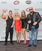 CULVER CITY, CA - JUNE 07: Taryn Terrell, Jessie Godderz, Jamie Lynn Szantyr and Mark LoMonaco at Spike TV's 'Guys Choice 2014' at Sony Pictures Studios on June 7, 2014 in Culver City, California. Credit: SP1/Starlitepics