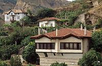 Bulgarien, Wiedergeburtshäuser in Melnik