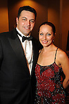 Vika and Angelo Soto at the Houston Children's Charity's 14th Annual Gala at the Hyatt Regency Saturday Oct. 23, 2010. (Dave Rossman/For the Chronicle)