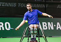 Rotterdam, The Netherlands, 14 Februari 2019, ABNAMRO World Tennis Tournament, Ahoy, Joachim Gerard (BEL),<br /> Photo: www.tennisimages.com/Henk Koster