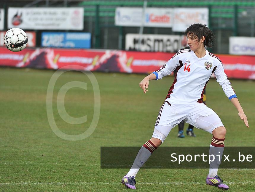 Russia U19 - Belgium U19 : Nasiba Gasanova.foto DAVID CATRY / Nikonpro.be