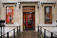 National Portrait Gallery, London.  Bookshop & Cafe entrance.