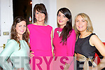 Aisling O'Dwyer, Sheila McCarthy, Saoirse Looney and Sadbh Fitzgerald  at the Killorglin Community College fashion show in the Manor Inn on Friday night