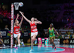 29/10/17 Fast5 2017<br /> Fast 5 Netball World Series<br /> Hisense Arena Melbourne<br /> Grand Final Jamaica v England<br /> Jo Harten<br /> <br /> <br /> <br /> <br /> <br /> Photo: Grant Treeby