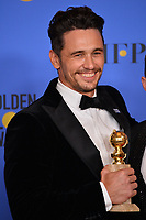 James Franco at the 75th Annual Golden Globe Awards at the Beverly Hilton Hotel, Beverly Hills, USA 07 Jan. 2018<br /> Picture: Paul Smith/Featureflash/SilverHub 0208 004 5359 sales@silverhubmedia.com