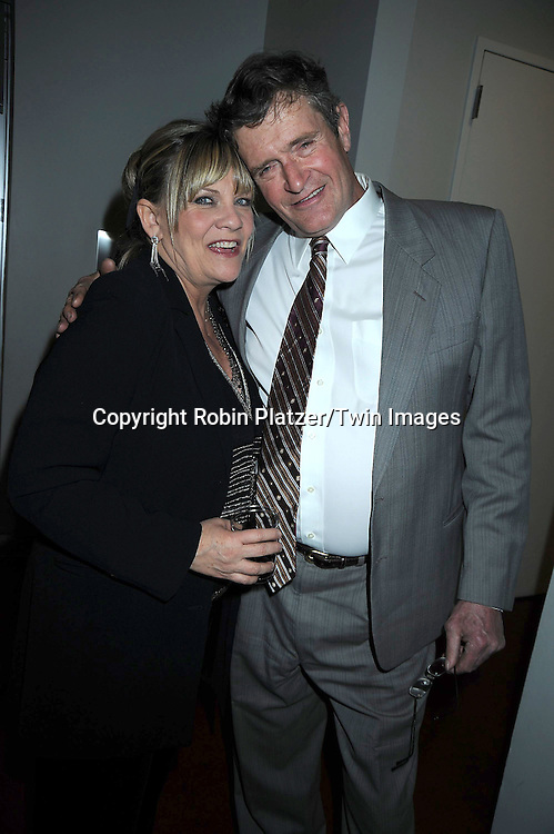 Kim Zimmer and Jordan Clarke attending The 2nd Annual Indie Soap Awards on February 21, 2011 at The Alvin Ailey Studios in  New York City sponsored by We Love Soaps.