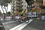 Race leader Yellow Jersey Chris Froome (GBR) Team Sky crosses the finish line of Stage 19 of the 104th edition of the Tour de France 2017, running 222.5km from Embrun to Salon-de-Provence, France. 21st July 2017.<br /> Picture: ASO/Bruno Bade | Cyclefile<br /> <br /> <br /> All photos usage must carry mandatory copyright credit (&copy; Cyclefile | ASO/Bruno Bade)