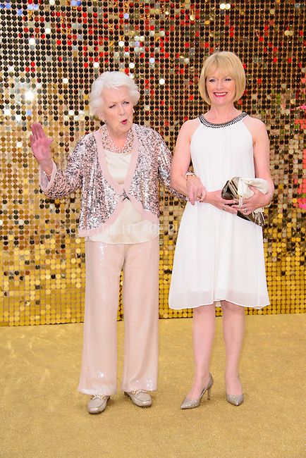 www.acepixs.com<br /> <br /> June 29 2016, London<br /> <br /> June Whitfield arriving at the World Premiere of 'Absolutely Fabulous: The Movie' at the Odeon Leicester Square on June 29, 2016 in London, England<br /> <br /> By Line: Famous/ACE Pictures<br /> <br /> <br /> ACE Pictures Inc<br /> Tel: 6467670430<br /> Email: info@acepixs.com<br /> www.acepixs.com
