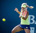 Angelique Kerber (GER) during her semifinal match against Elina Svitolina (UKR) at the Bank of the West Classic in Stanford, CA on August 8, 2015.