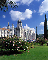 Portugal, Belém: Mosteiro dos Jerónimos de Belém (Kloster - 16. Jh) | Portugal, Belém: Mosteiro dos Jerónimos de Belém (monastery - 16th century)