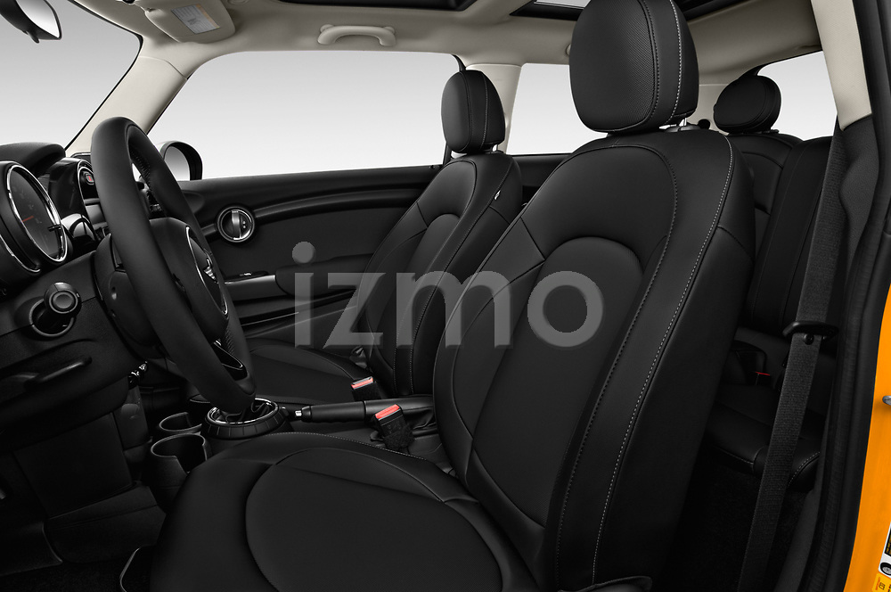 Front seat view of 2017 MINI Cooper 3-door 3 Door Hatchback Front Seat  car photos