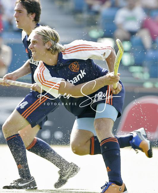 NLD-20050901-Leipzig-EK HOCKEY : Nederland-Spanje 2-1. Roderick Weusthof.