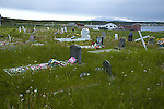 Private family graveyard, River of Ponds, Newfoundland