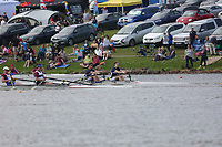 Race: 61  Event: J16 2x   Final B <br /> <br /> Junior Inter Regional Regatta 2018<br /> <br /> To purchase this photo, or to see pricing information for Prints and Downloads, click the blue 'Add to Cart' button at the top-right of the page.