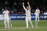 Simon Harmer of Essex appeals for a wicket during Essex CCC vs Yorkshire CCC, Specsavers County Championship Division 1 Cricket at The Cloudfm County Ground on 7th July 2019