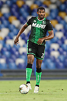 Marlon US Sassuolo<br /> during the Serie A football match between SSC  Napoli and US Sassuolo at stadio San Paolo in Naples ( Italy ), July 25th, 2020. Play resumes behind closed doors following the outbreak of the coronavirus disease. <br /> Photo Cesare Purini / Insidefoto