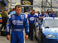 May 31, 2008; Dover, DE, USA; Nascar Sprint Cup Series driver Ryan Newman during practice for the Best Buy 400 at the Dover International Speedway. Mandatory Credit: Mark J. Rebilas-US PRESSWIRE