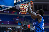 7th September 2017, Fenerbahce Arena, Istanbul, Turkey; FIBA Eurobasket Group D; Russia versus Great Britain; Center Gabe Olaseni #25 of Great Britain dunks the basket during the match
