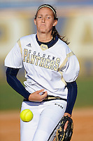 13 February 2010:  FIU's Kasey Barrett (5) pitches as the FIU Golden Panthers defeated the University of Illinois (Chicago) Flames, 2-1, at the University Park Stadium in Miami, Florida.