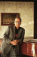 Ennio Morricone è un compositore, musicista e direttore d'orchestra italiano. Con una formazione da trombettista, ha scritto le musiche di più di 500 tra film e serie TV, oltre che opere di musica contemporanea. Ennio Morricone, Grand Officer OMRI (Italian: born 10 November 1928) is an Italian composer, orchestrator, conductor, and former trumpet player, born in Rome. He composes a wide range of music styles, making him one of the most versatile, experimental and influential composers of all time, working in any medium.[1] Over the past 7 decades, Morricone has composed over 500 scores for cinema and television, as well as over 100 classical works. Lido (Venice) settembre 1995. © Leonardo Cendamo