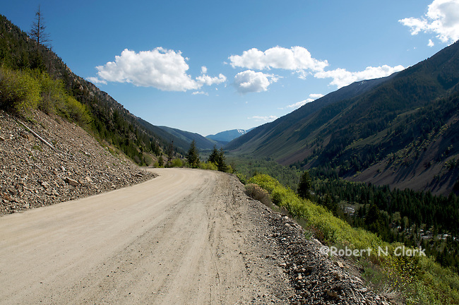 Views from Trail Creek road near Sun Valley, Idaho
