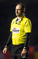 Referee Romain Poite<br /> <br /> Photographer Bob Bradford/CameraSport<br /> <br /> European Rugby Challenge Cup - Harlequins v Wasps - Sunday 13th January 2018 - Twickenham Stoop - London<br /> <br /> World Copyright &copy; 2018 CameraSport. All rights reserved. 43 Linden Ave. Countesthorpe. Leicester. England. LE8 5PG - Tel: +44 (0) 116 277 4147 - admin@camerasport.com - www.camerasport.com
