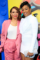"LOS ANGELES - FEB 2:  Maya Rudolph, Tiffany Haddish at ""The Lego Movie 2: The Second Part"" Premiere at the Village Theater on February 2, 2019 in Westwood, CA"