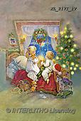 CHRISTMAS SANTA, SNOWMAN, WEIHNACHTSMÄNNER, SCHNEEMÄNNER, PAPÁ NOEL, MUÑECOS DE NIEVE, paintings+++++,KL2171/1V,#X#