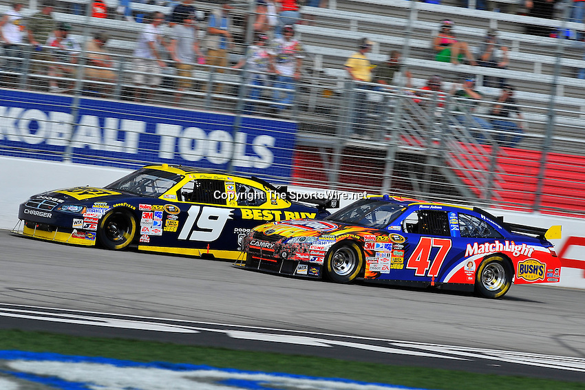 Mar 08, 2009; 2:14:56 PM; Hampton, GA, USA; NASCAR Sprint Cup Series race for the Kobalt Tools 500 at the Atlanta Motor Speedway.  Mandatory Credit: (thesportswire.net)