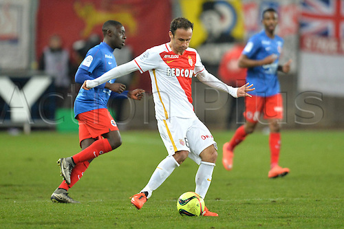 04.03.2016. Caen, France. French League 1 football. Caen versus Monaco.  Ricardo CARVALHO (mon) with the cross