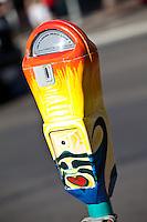 Painted Parking Meter Laguna Beach