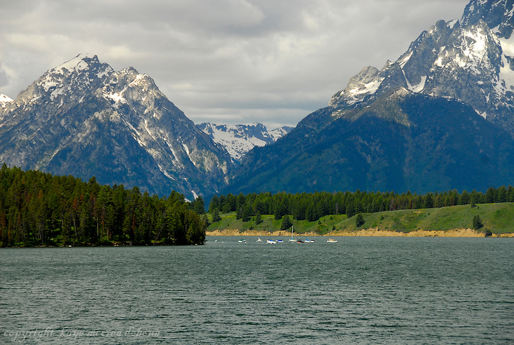 Grand Tetons and Jenny Lake