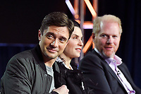 PASADENA, CA - FEBRUARY 10:  Topher Grace attends the The Hot Zone panel at the 2019 National Geographic portion of the Television Critics Association Winter Press Tour at The Langham Huntington Hotel on February 10, 2019 in Pasadena, California. (Photo by Vince Bucci/National Geographic/PictureGroup)