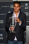 19 November 2010: FC Dallas midfielder David Ferreira was awarded the 2010 VW MLS MVP Award. The 2010 Major League Soccer MVP was awared at BMO Field in Toronto, Ontario, Canada as part of MLS Cup 2010 Weekend, Major League Soccer's championship game.
