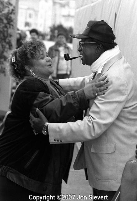 Etta James and Albert King, San Francisco Blues Festival, 98-15-26A, Sept. 10, 1989