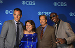 """Will Arnett, Margo Martindale, Beau Bridges, JB Smoove in """"The Millers"""" at the CBS Upfront on May 15, 2013 at Lincoln Center, New York City, New York. (Photo by Sue Coflin/Max Photos)"""
